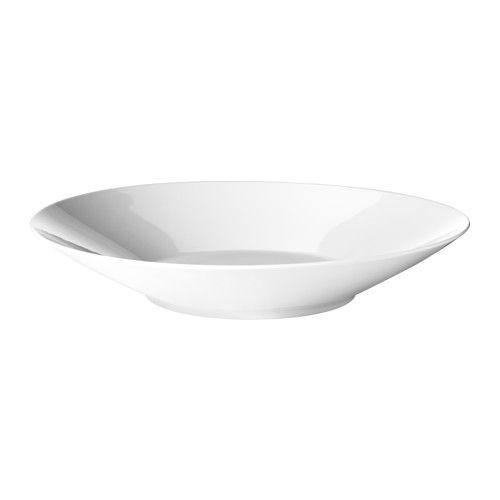 IKEA - IKEA 365+, Skål, 34 cm, , Laget av feltspatporselen, som gjør at bollen tåler støt og dermed varer lenge.Praktisk og nyttig fat, egnet både til servering og til å spise av.Den tidløse og smarte formen gjør at porselenet fyller alle behov i hjemmet, hva du enn spiser og drikker, samtidig som det tåler å brukes 365 dager i året.Smart design gjør at du kan stable mindre boller eller fat oppi de større, uten å ta opp mer vertikal pass, slik at du får plass til andre ting.
