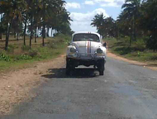 Herbie goes to Africa!