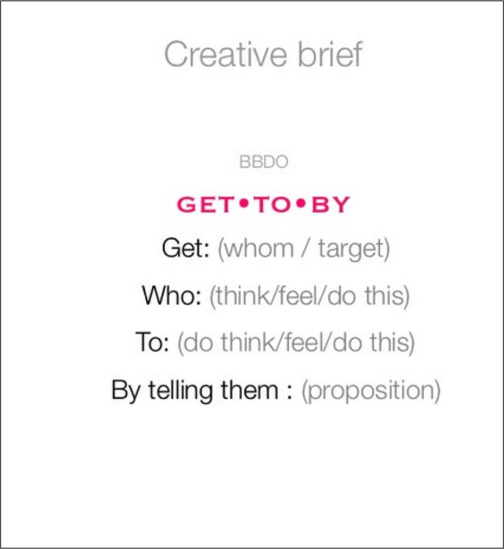 8 best Creative Brief Examples images on Pinterest Briefs - project brief template