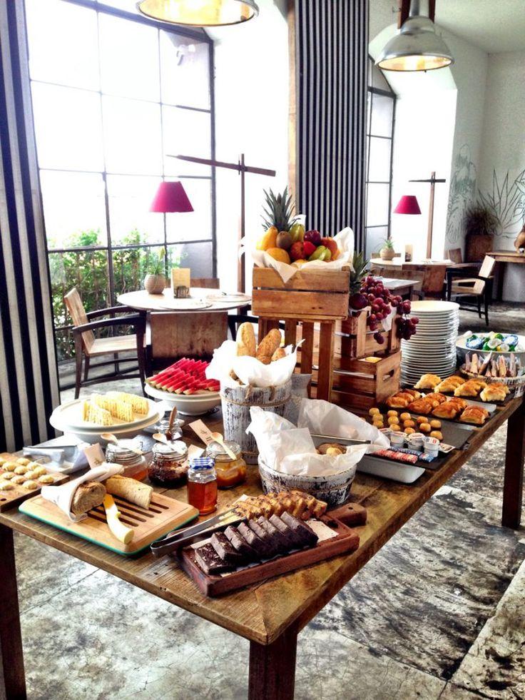 Hotel Santa Teresa _café da manhã no restaurante Térèze - Rio de Janeiro