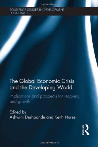 The Global Economic Crisis and the Developing World: Implications and Prospects for Recovery and Growth (EBOOK) FULL TEXT: http://web.a.ebscohost.com/ehost/results?sid=fc2a6a4c-e0ed-4056-90a1-25994f91bdfa%40sessionmgr4010&vid=0&hid=4112&bquery=Global+Economic+Crisis+AND+the+Developing+World&bdata=JmRiPW5sZWJrJmNsaTA9TkwmY2x2MD1ZJnR5cGU9MCZzaXRlPWVob3N0LWxpdmU%3d