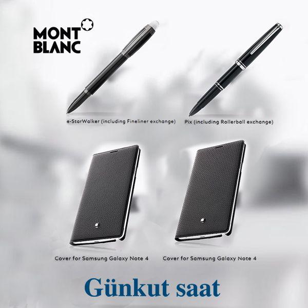 Samsung Galaxy Note 4'ünüz için ister S Pen, ister kalem şeklinde kullanacağınız şık aksesuar ve kılıflar...  Ürünlerimizi incelemek için;  http://www.gunkutsaat.com/catinfo.asp?src=Mont+Blanc+Aksesuar&imageField2.x=6&imageField2.y=17