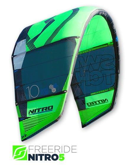 Nitro5 Freeride - High Performance - Big Air - | SwitchKites