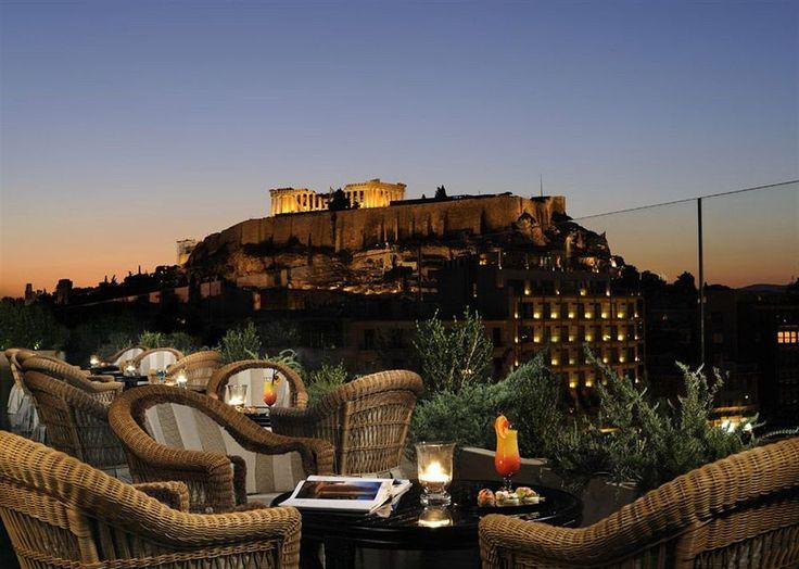 Ioannis Restaurant Amp Bar Athens Greece Rooftop