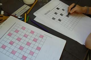 pintar las tablas de multiplicar