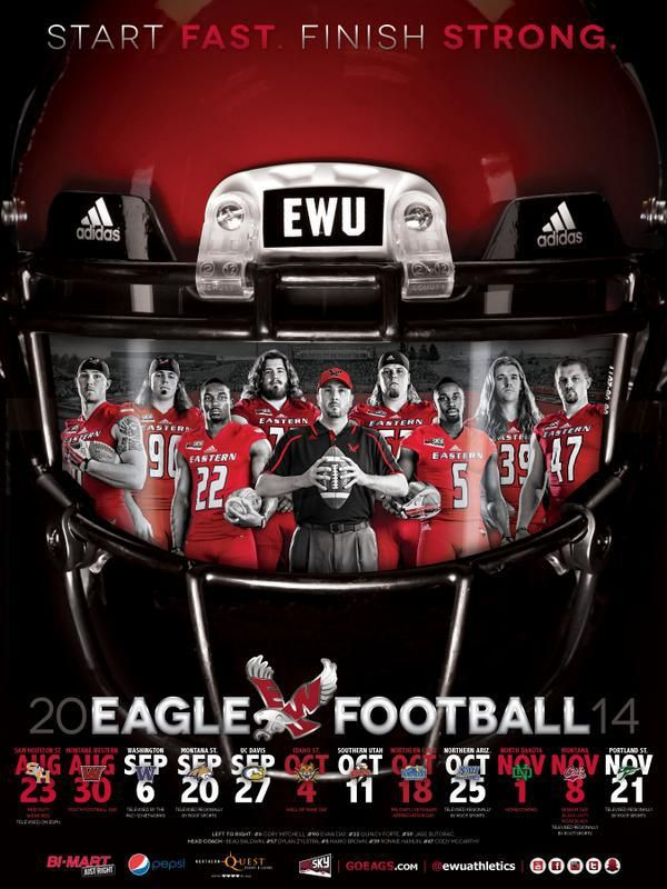 2014 College Football Schedule Poster Gallery | Poster Swag
