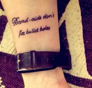 Best 20+ Taylor Swift Tattoo ideas on Pinterest | Easy ... Bullet Band Tattoo