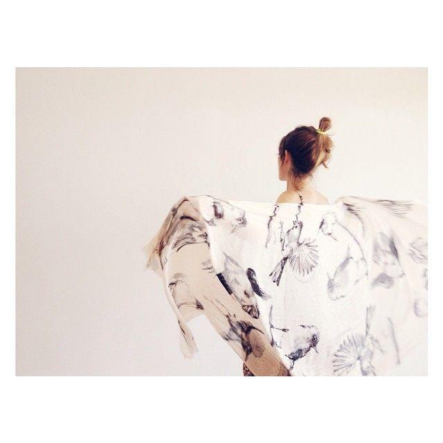 """#back #scarf #birds #happy #movement #summer #morning #light #daylight"" Photo taken by @bnnphotos on Instagram, pinned via the InstaPin iOS App! http://www.instapinapp.com (02/14/2015)"