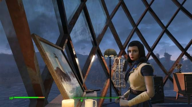 Elizabeth Companion (Bioshock) at Fallout 4 Nexus - Mods and community