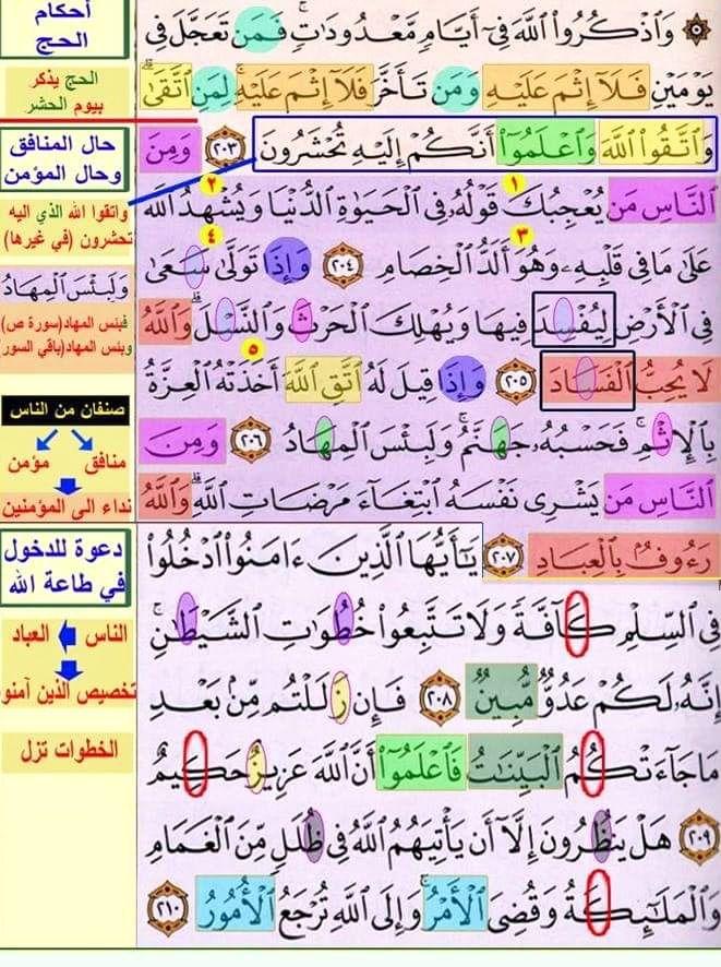 تثبيت حفظ سورة البقرة صفحة ٣٢ In 2021 Islam Facts Quran Verses Bullet Journal