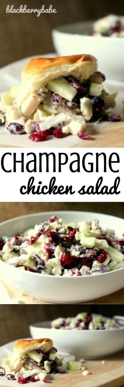 Creamy Champagne Chicken Salad