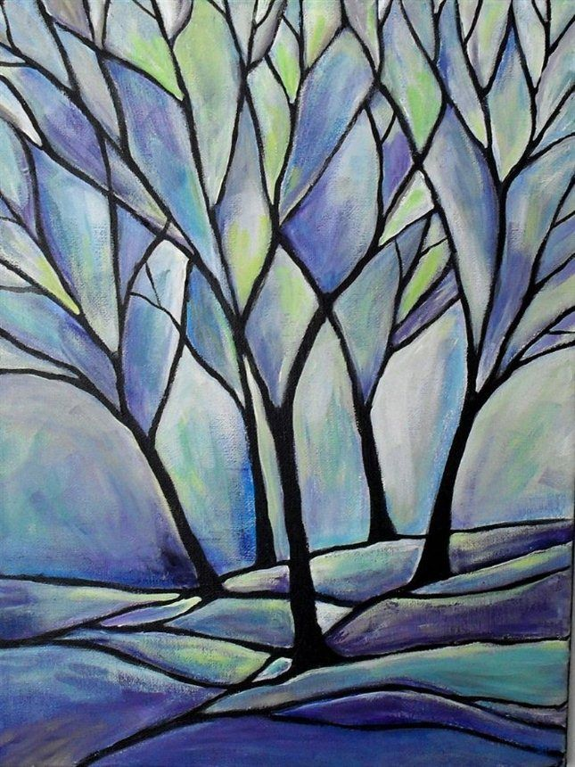 17 best images about painting inspiration tree branches