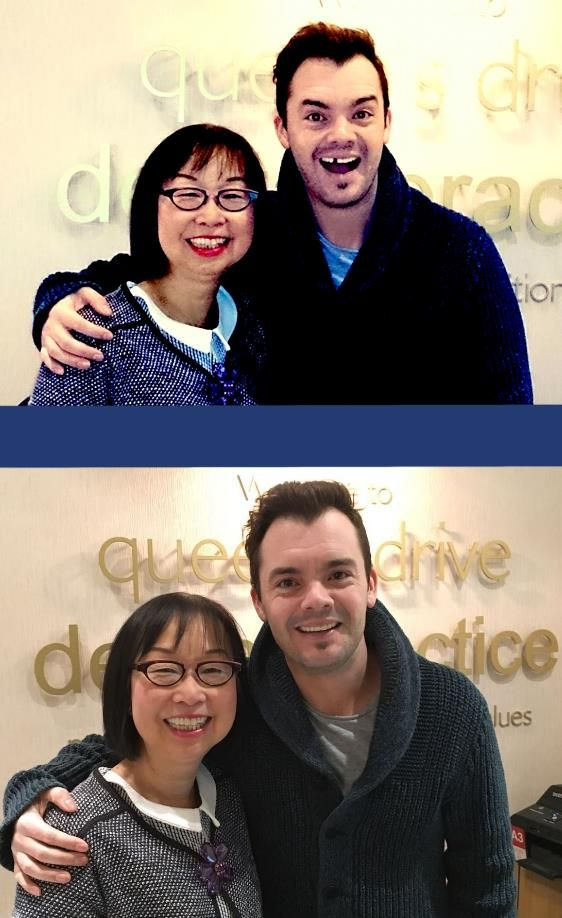 Barney Harwood, television presenter and actor, known for his work with CBBC was more than relived after he got his minor dental emergency attended to at Queen's Drive Dental Practice. Queen's Drive Dental Pracice,Glasgow, Dentist, Cosmetic Dentistry, family Dentistry, cfast bracec, teeth-whitening, white fillings, crowns.