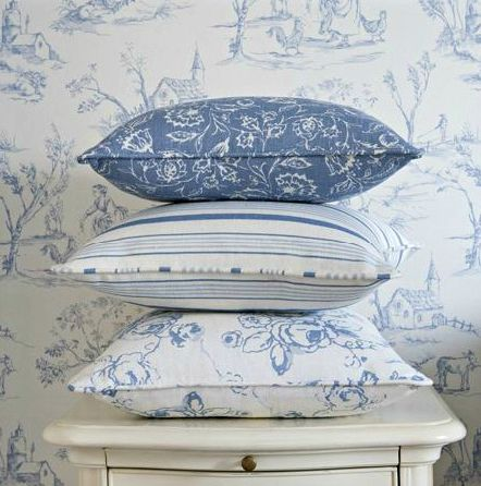 1000 Images About Toile De Jouy Style On Pinterest