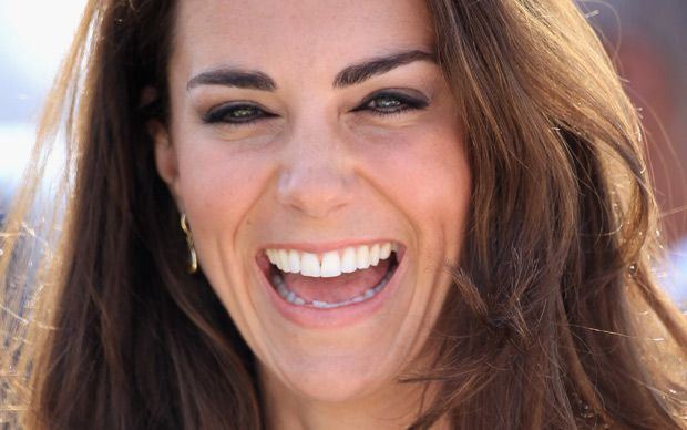 The Duchess of Cambridge, Kate Middleton, underwent a revolutionary new form   of dental surgery to achieve the glistening smile that has charmed millions   around the world, it has been claimed.