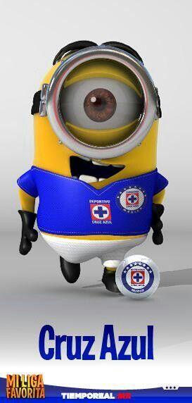 Minion liga mx Cruz Azul