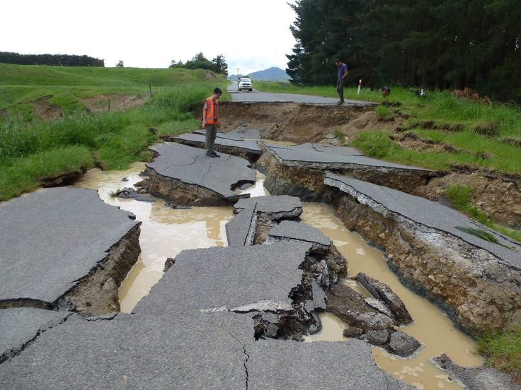 Bill ✔️ Waiau North Canterbury New Zealand 14 November 2016 M7.8 Earthquake. Bill Gibson-Patmore. (curation & caption: @BillGP). Bill✔️