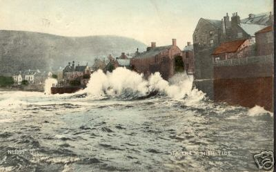 Staithes storm