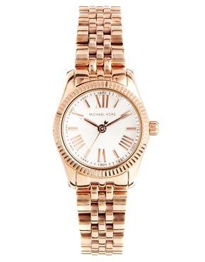 Image 1 ofMichael Kors Lexington Rose Gold Watch