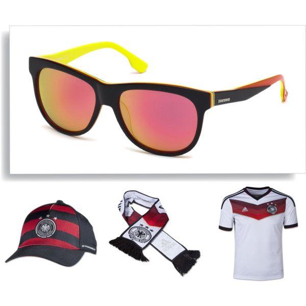 Gafas de sol Diesel edición limitada para el Mundial de Brasil, selección alemana