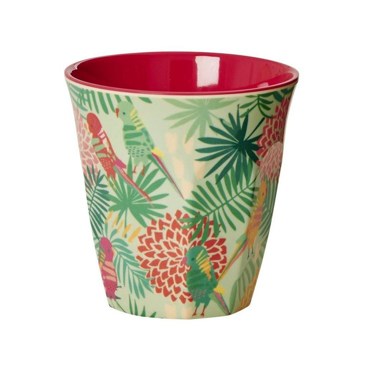 Rice Melamine beker Tropical