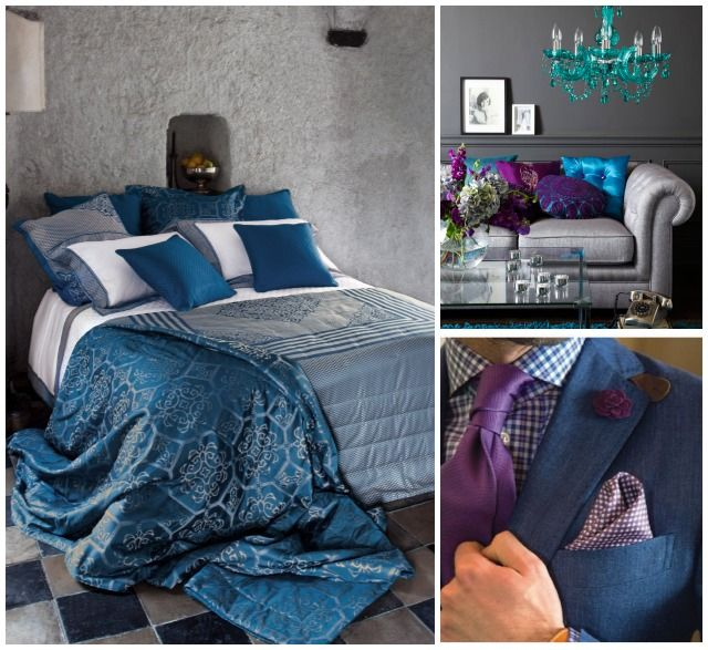 673 best images about bedroom interior on pinterest for Bedroom ideas royal blue