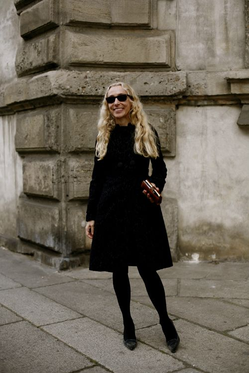 all blackPhotos, Stylish People, All Black, Interesting People, Icons Franca, Allblack, Francasozzani, Franca Sozzani, Black Hose