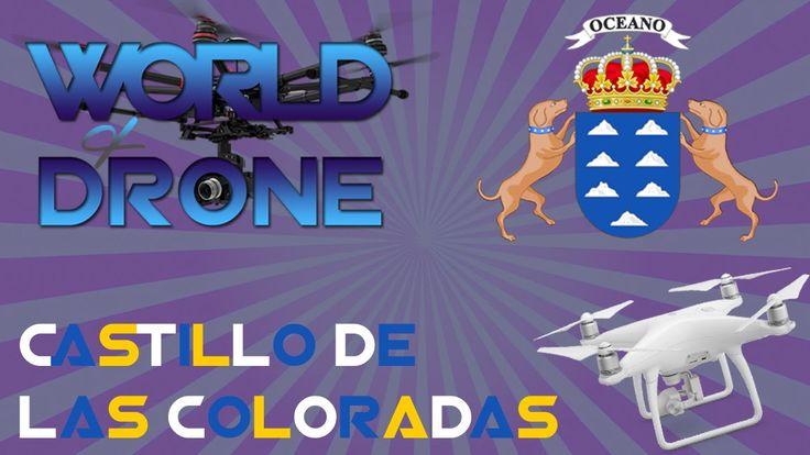 Lanzarote Canary Islands Castillo de las Coloradas 4K Video ❤  drone aerial…
