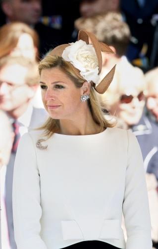 Princess Máxima, May 29, 2009 in Fabienne Delvigne