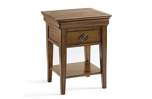 Rochelle Oak Lamp Table