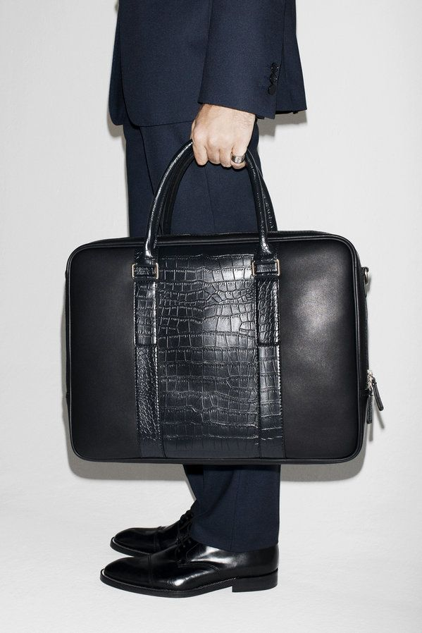 Leather Laptop Case August Man Lookbook Zara United