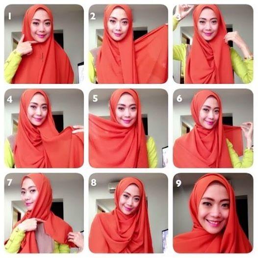 hijab tutorial #ayuaryuli #dpcollection