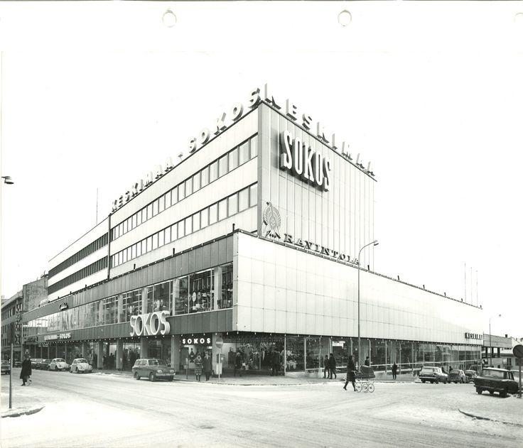 Jyväskylän Sokos vuonna 1976