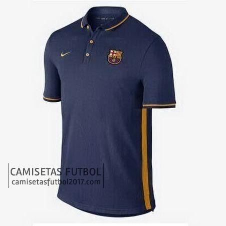 Polo de entrenamiento azul marino Barcelona 2015 2016 | camisetas de futbol baratas