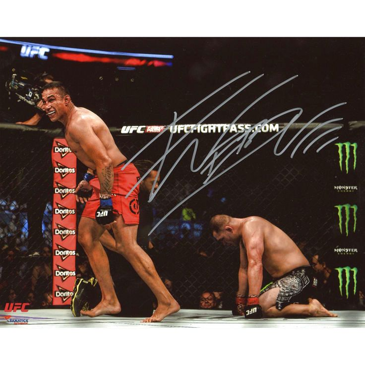 Fabricio Werdum Ultimate Fighting Championship Fanatics Authentic Autographed 8'' x 10'' Victory Over Cain Velasquez Photograph - $55.99