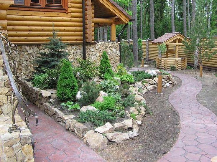 Am nagement petit jardin devant la maison quels arbres for Pierres decoratives exterieur