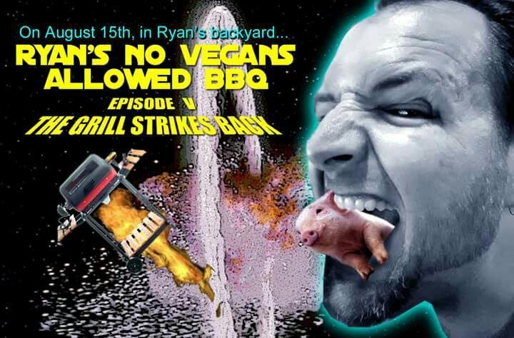 5th Annual No Vegans Allowed BBQ.