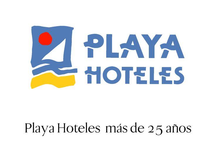 Imagen de la cadena de Hoteles Playa, diseño de 1987.