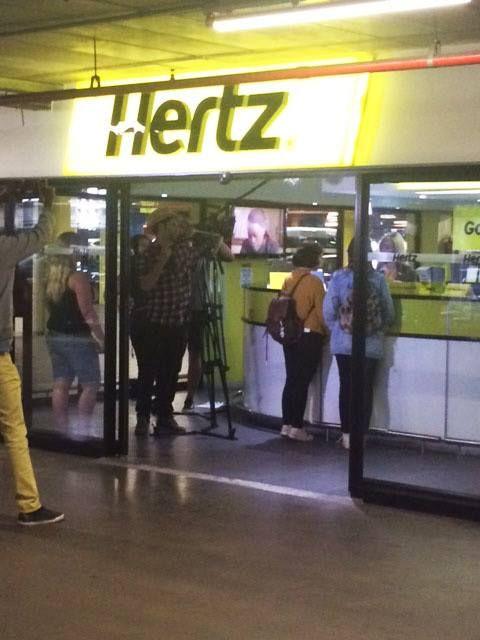 Hertz stand