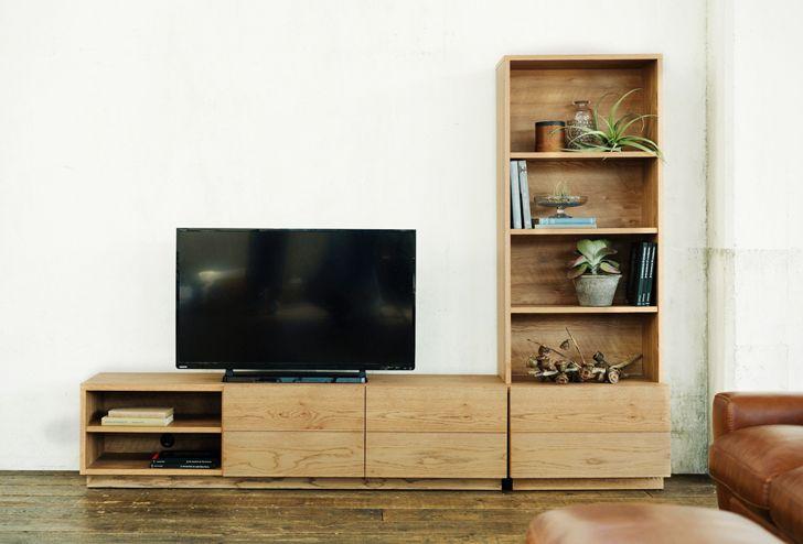 ADDAY(アディ) AVボード W1600 | ≪unico≫オンラインショップ:家具/インテリア/ソファ/ラグ等の販売。