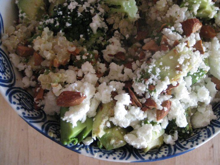 Double Broccoli Quinoa | One Wooden Spoon