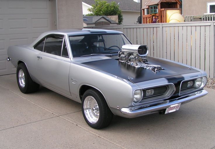 1968 Barracuda With A Blown 446 Cu In Engine Mopar