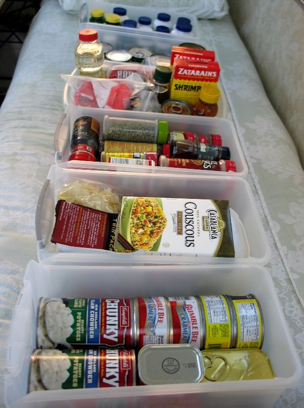 I have heard people complain that they are only able to pack 3 or 4 days worth of food in their Aliners. So I thought I'd share some of my secrets of easily packing food for a week or more. I use ...