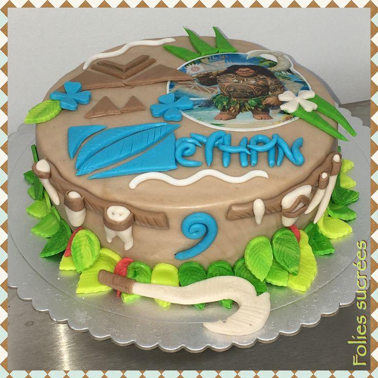 Maui Themed Cakes