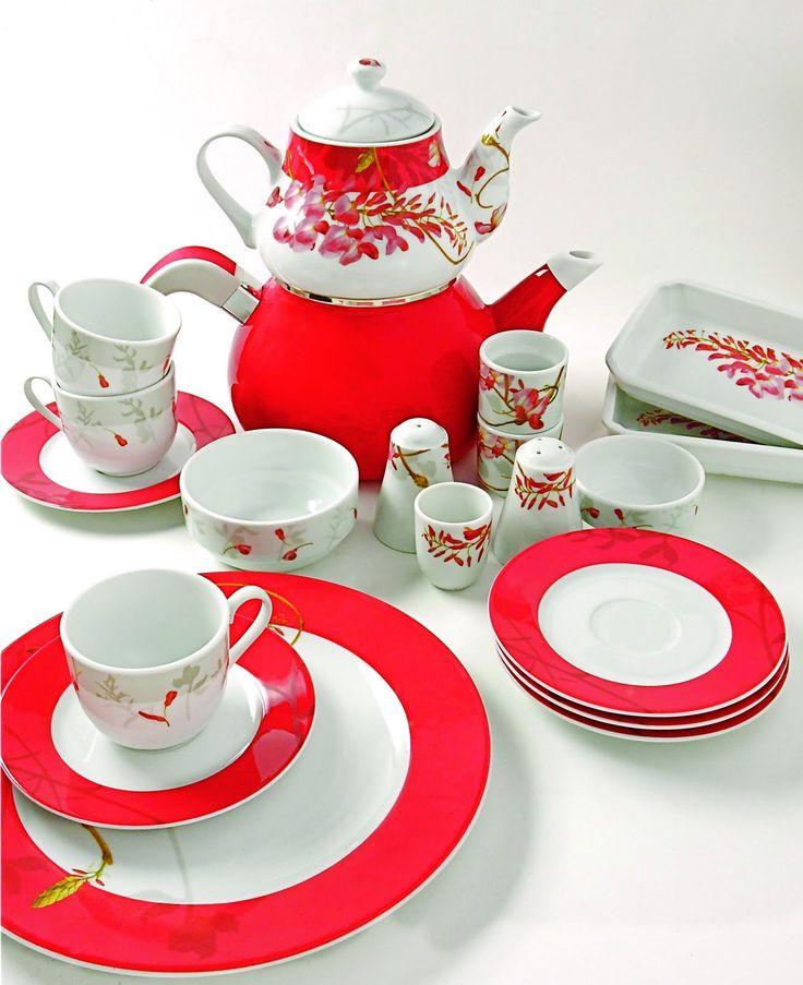 Güral porselen kahvaltı ve çay takımları, kahvaltılık takımlar, porselen kahvaltılık... #güralporselen #kahvalti http://www.hobidekorasyon.com/gural-porselen-kahvalti-takimlari/