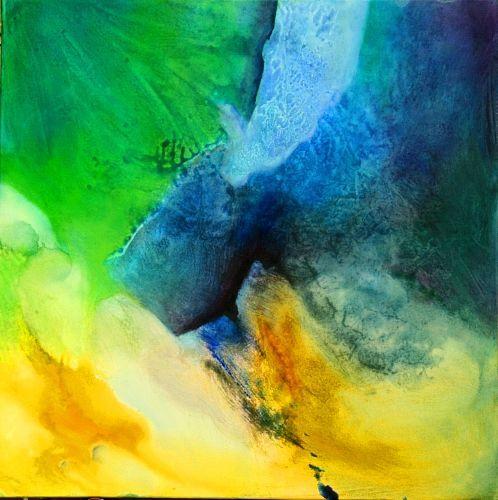 """Agnes Lang, """"Mai-Impressionen ll"""" Mit einem Klick auf """"Als Kunstkarte versenden"""" versenden Sie kostenlos dieses Werk Ihren Freunden und Bekannten."""