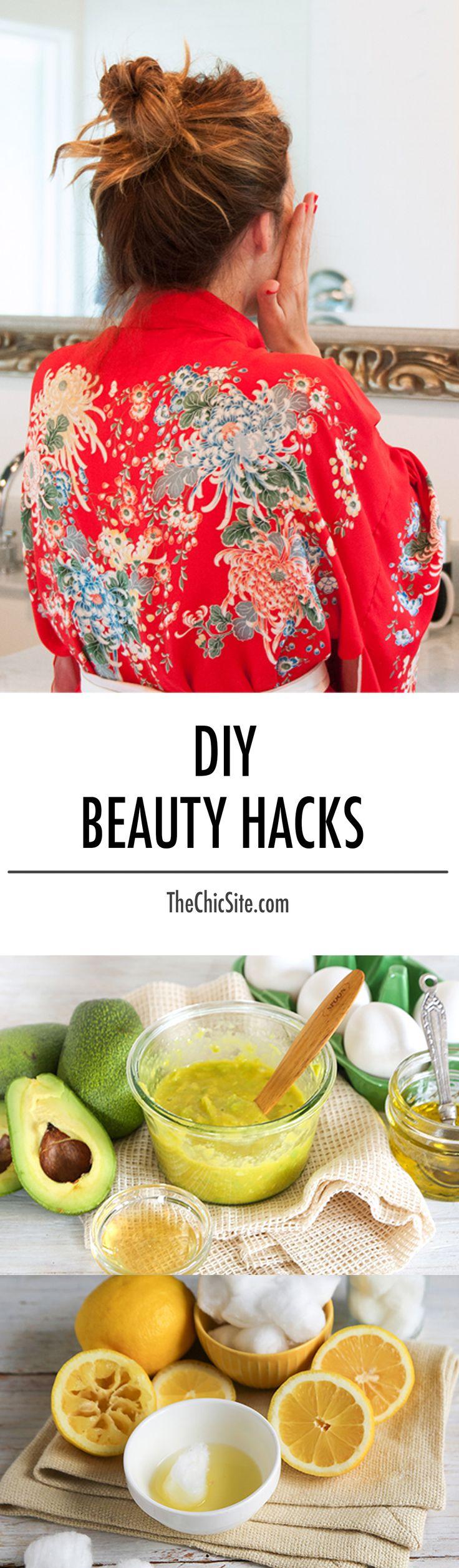 DIY Beauty Tips Hacks
