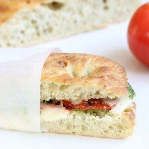 Skip the line and make your own Starbucks roasted tomato and mozzarella panini at home.