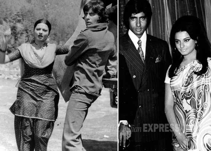 Rekha was rumoured to be in a relationship with her married co-star Amitabh Bachchan. The couple was last seen together in 'Silsila,' and their affair ended soon after. Rumours were rife that Amitabh had secretly married Rekha because she was seen wearing sindoor and mangalsutra at Rishi Kapoor and Neetu Singh's wedding. It is said that she captured all the limelight that night. But nothing came out of  these reports.