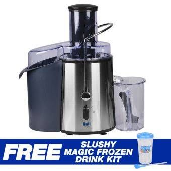Buy Koii Power Juicer with Free Slushy Magic Frozen Drink Kit online at Lazada. Discount prices and promotional sale on all. Free Shipping.